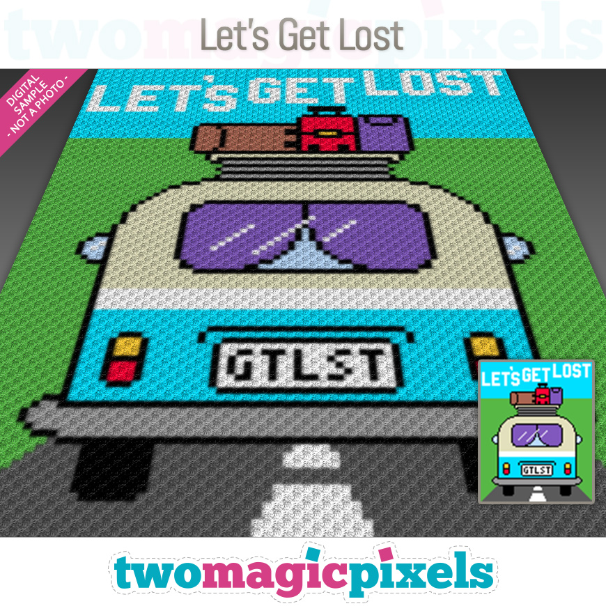 Let's Get Lost by Two Magic Pixels