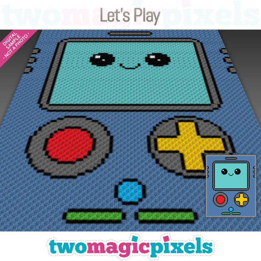 Let's Play by Two Magic Pixels