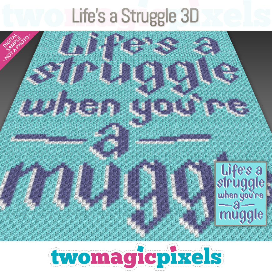 Life's a Struggle 3D by Two Magic Pixels