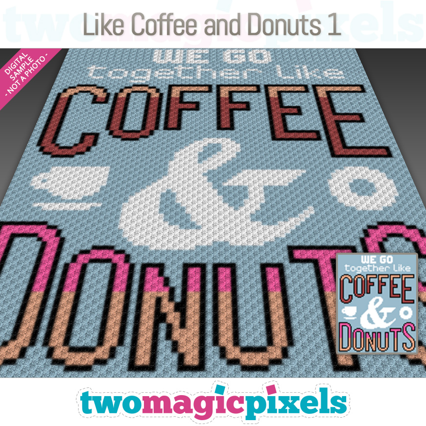 Like Coffee and Donuts 1 by Two Magic Pixels