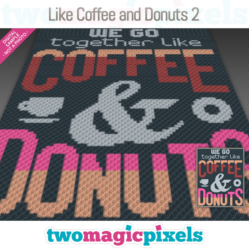 Like Coffee and Donuts 2 by Two Magic Pixels