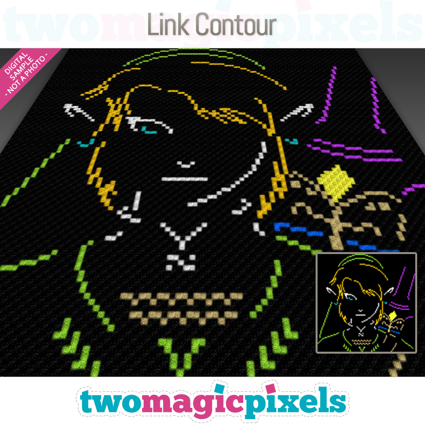 Link Contour by Two Magic Pixels
