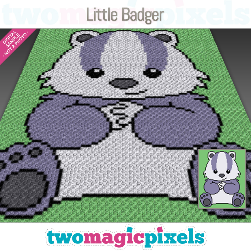 Little Badger by Two Magic Pixels
