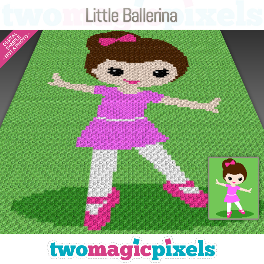 Little Ballerina by Two Magic Pixels
