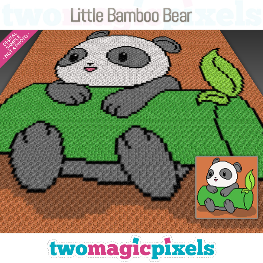 Little Bamboo Bear by Two Magic Pixels