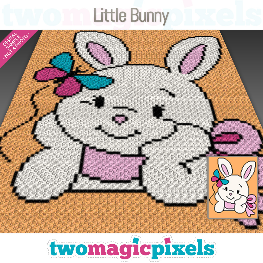 Little Bunny by Two Magic Pixels