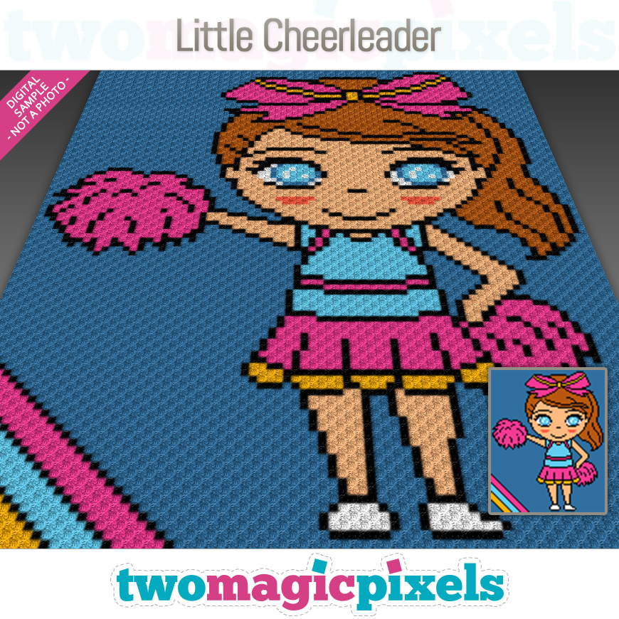 Little Cheerleader by Two Magic Pixels