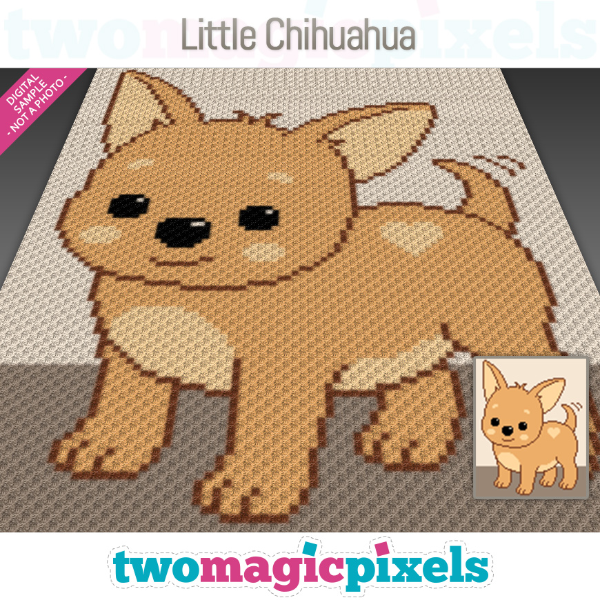 Little Chihuahua by Two Magic Pixels