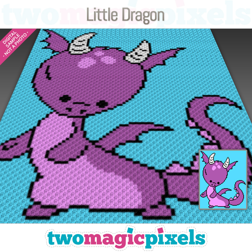 Little Dragon by Two Magic Pixels