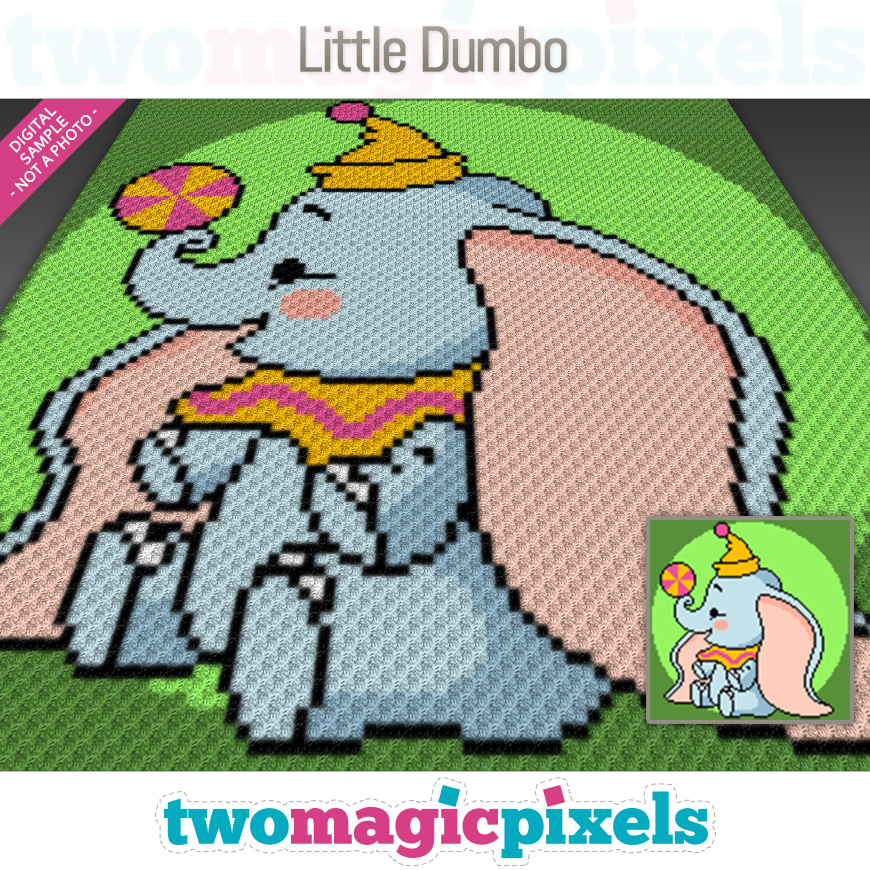 Little Dumbo by Two Magic Pixels