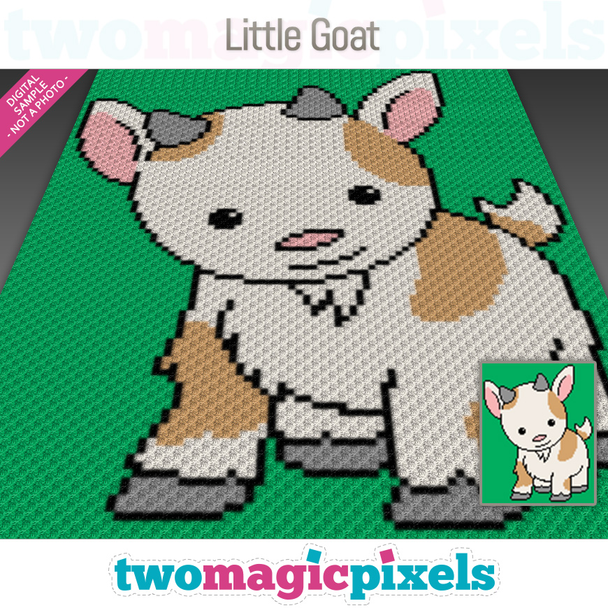 Little Goat by Two Magic Pixels