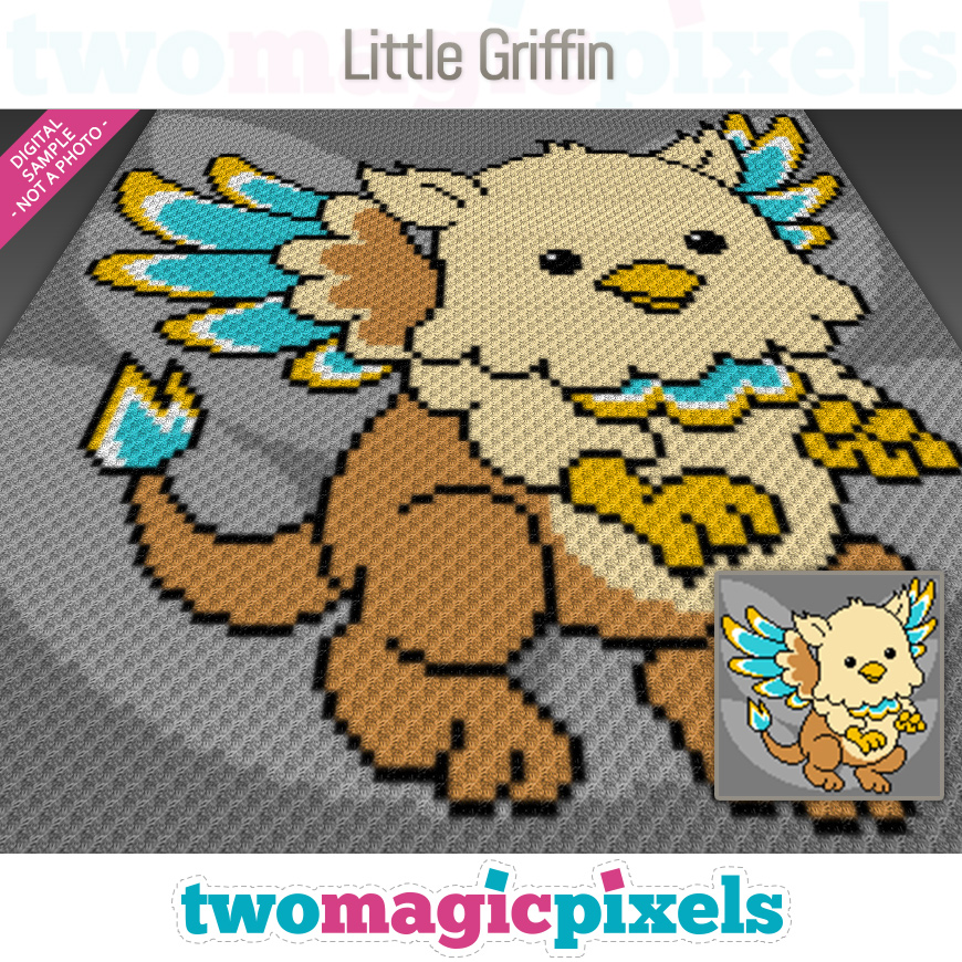 Little Griffin by Two Magic Pixels