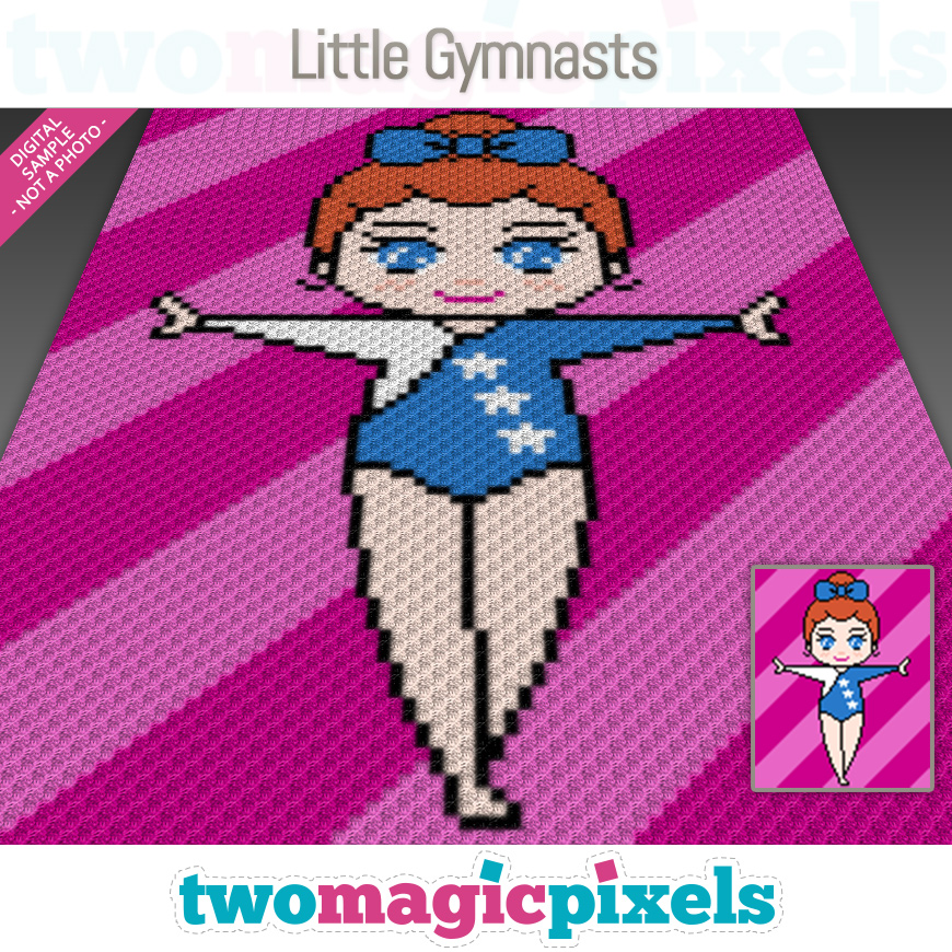 Little Gymnast by Two Magic Pixels