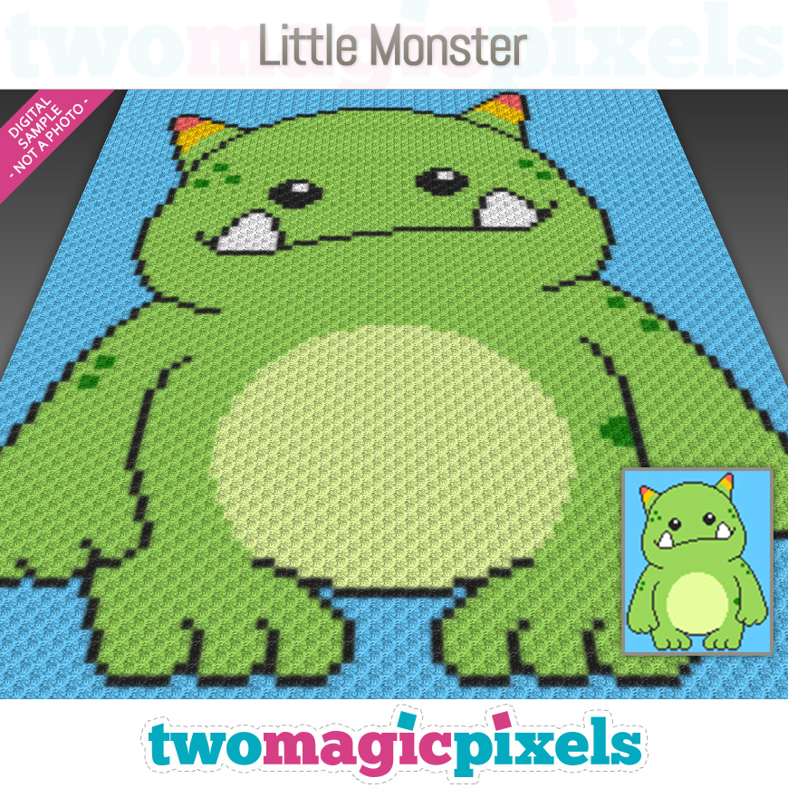 Little Monster by Two Magic Pixels