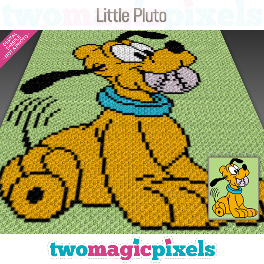 Little Pluto by Two Magic Pixels