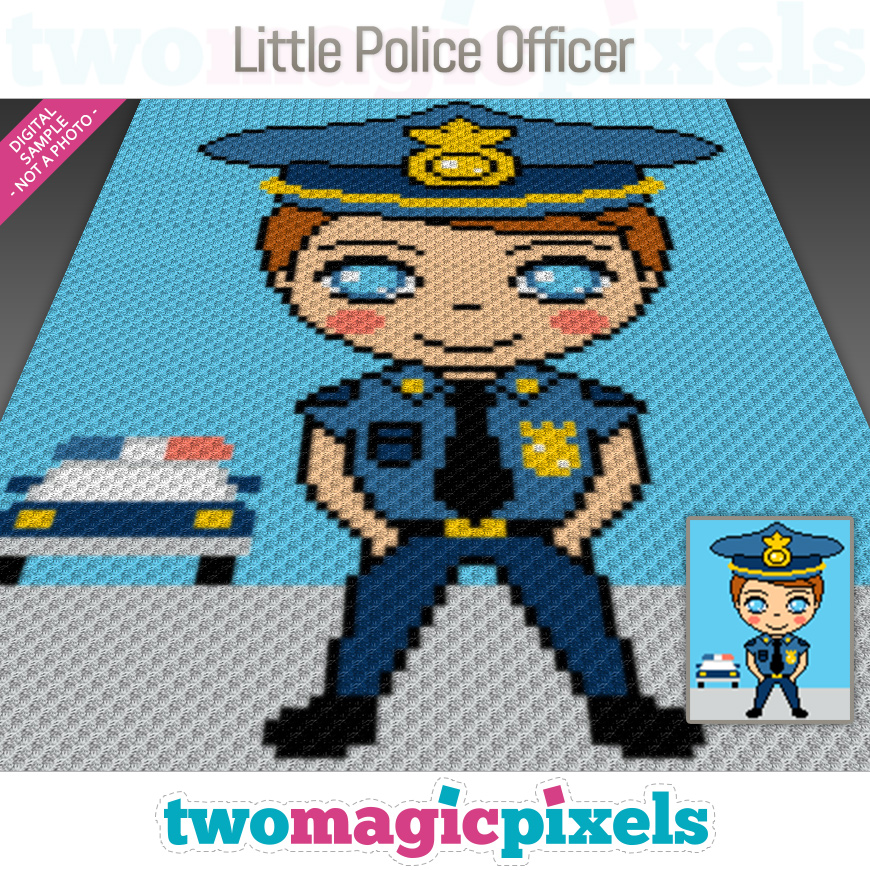 Little Police Officer by Two Magic Pixels