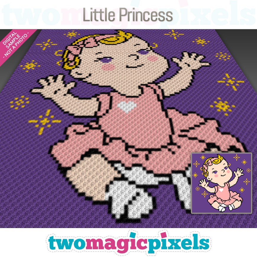 Little Princess by Two Magic Pixels