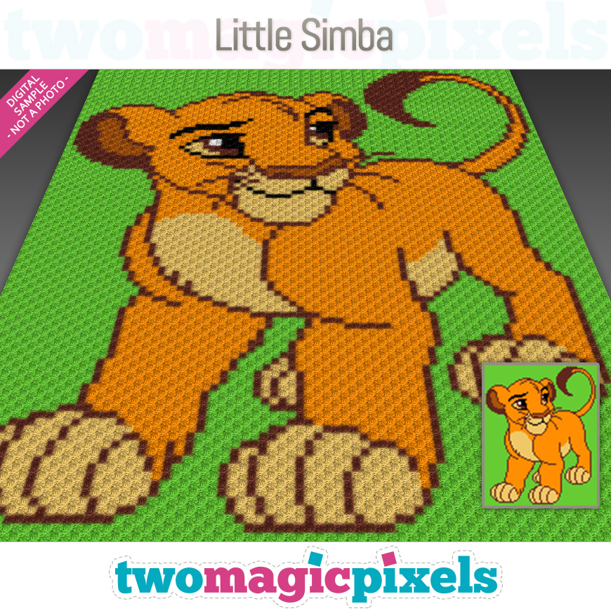 Little Simba by Two Magic Pixels