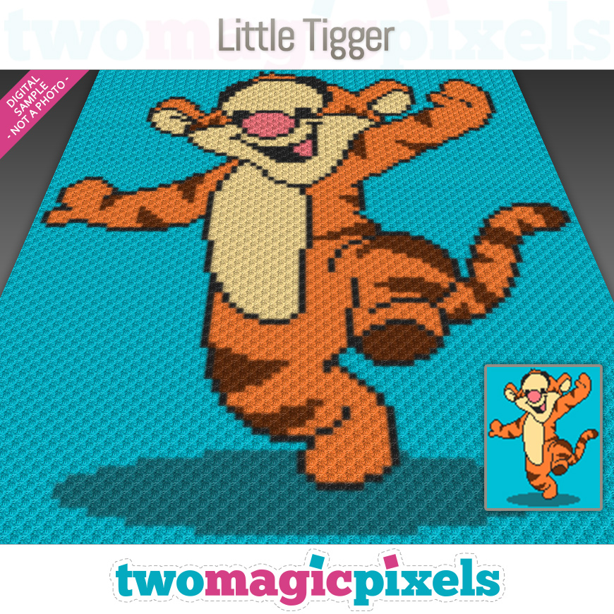 Little Tigger by Two Magic Pixels