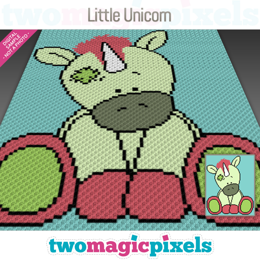 Little Unicorn by Two Magic Pixels