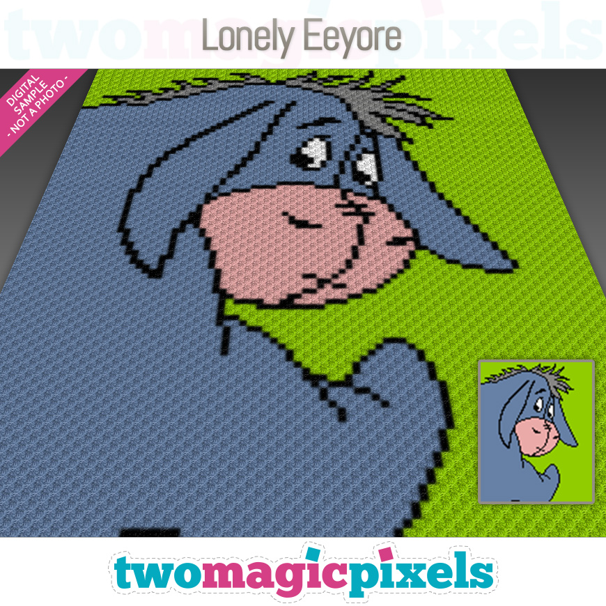 Lonely Eeyore by Two Magic Pixels