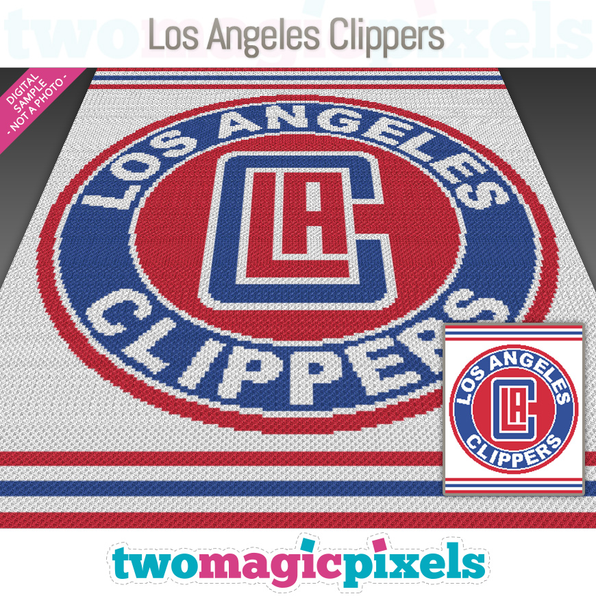 Los Angeles Clippers by Two Magic Pixels