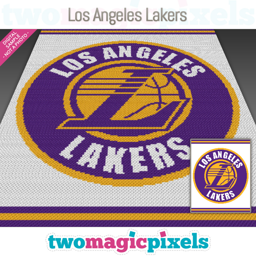 Los Angeles Lakers by Two Magic Pixels