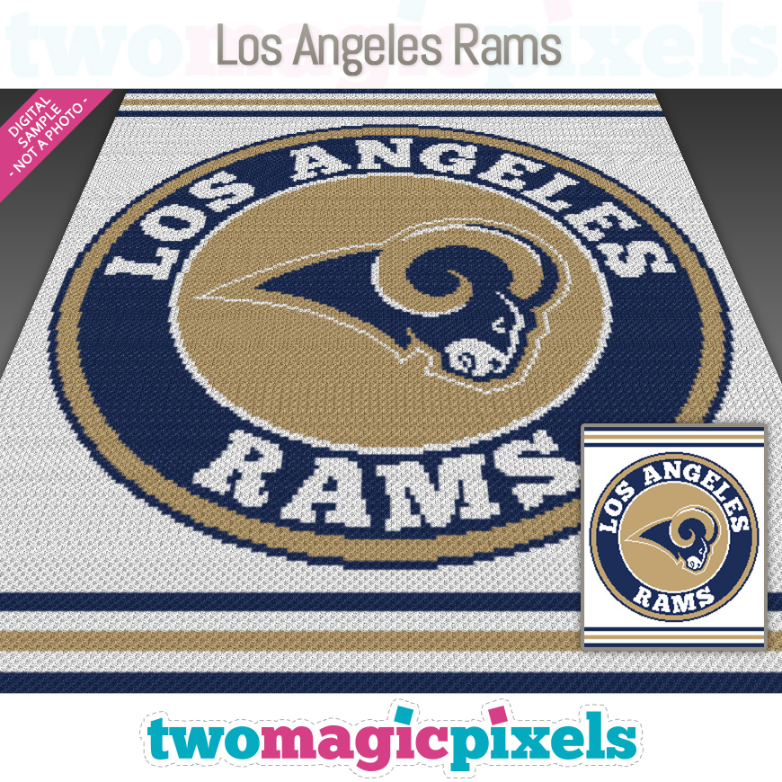 Los Angeles Rams by Two Magic Pixels