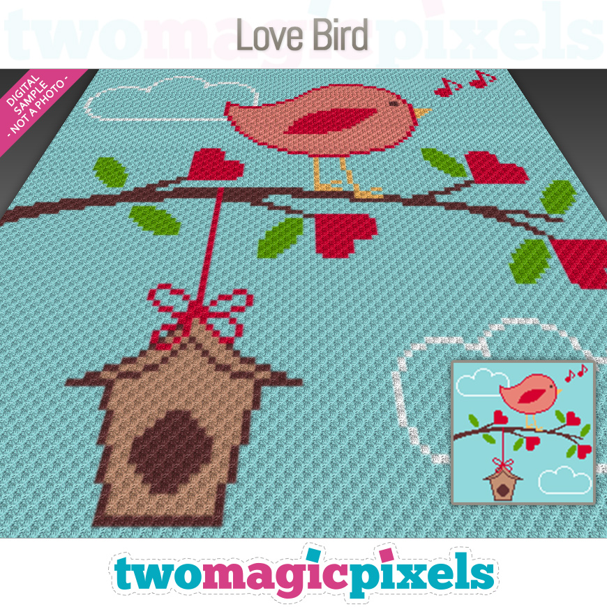 Love Bird by Two Magic Pixels
