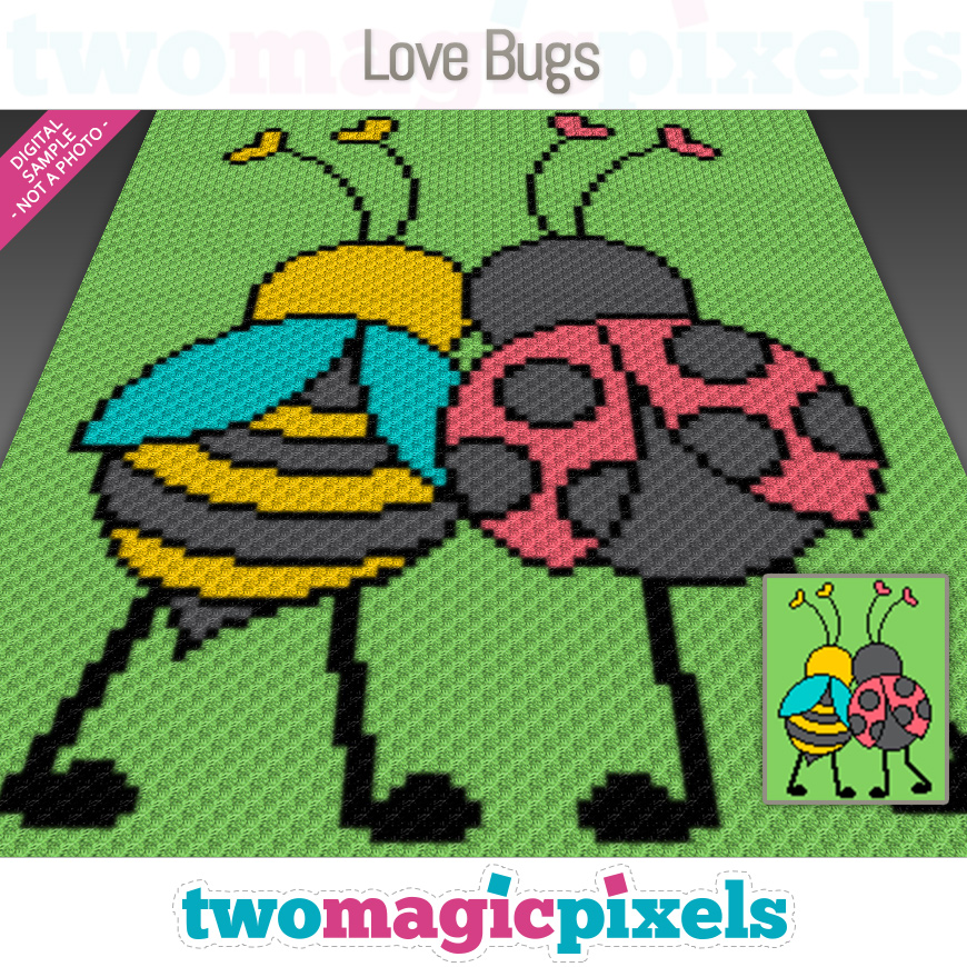 Love Bugs by Two Magic Pixels