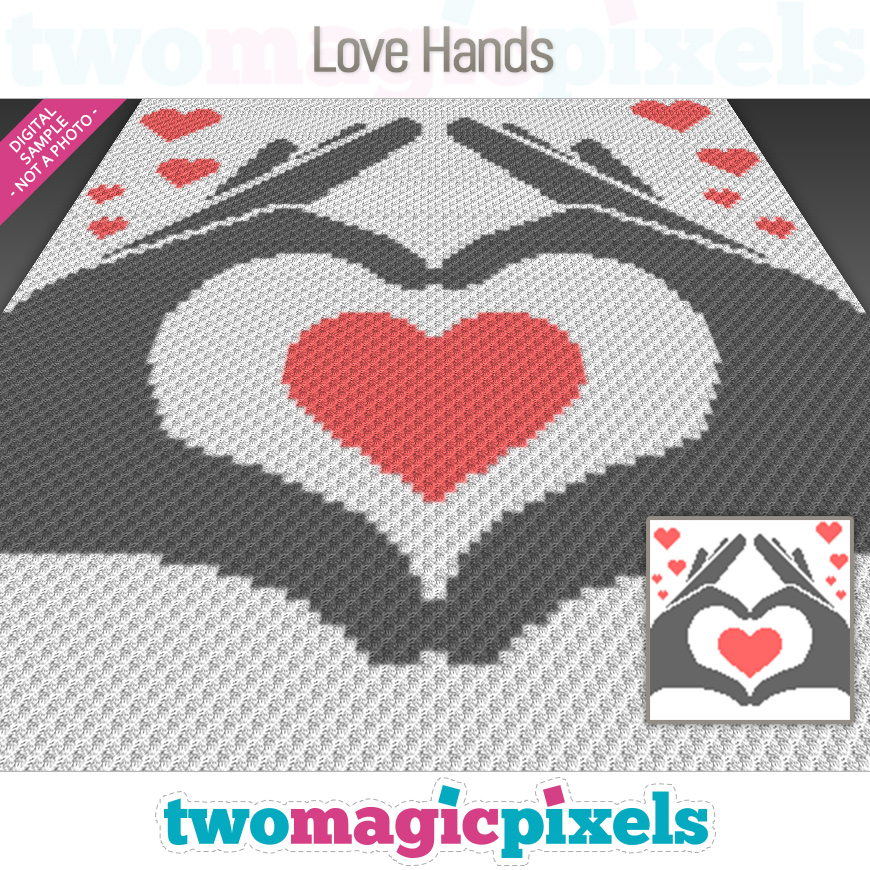 Love Hands by Two Magic Pixels