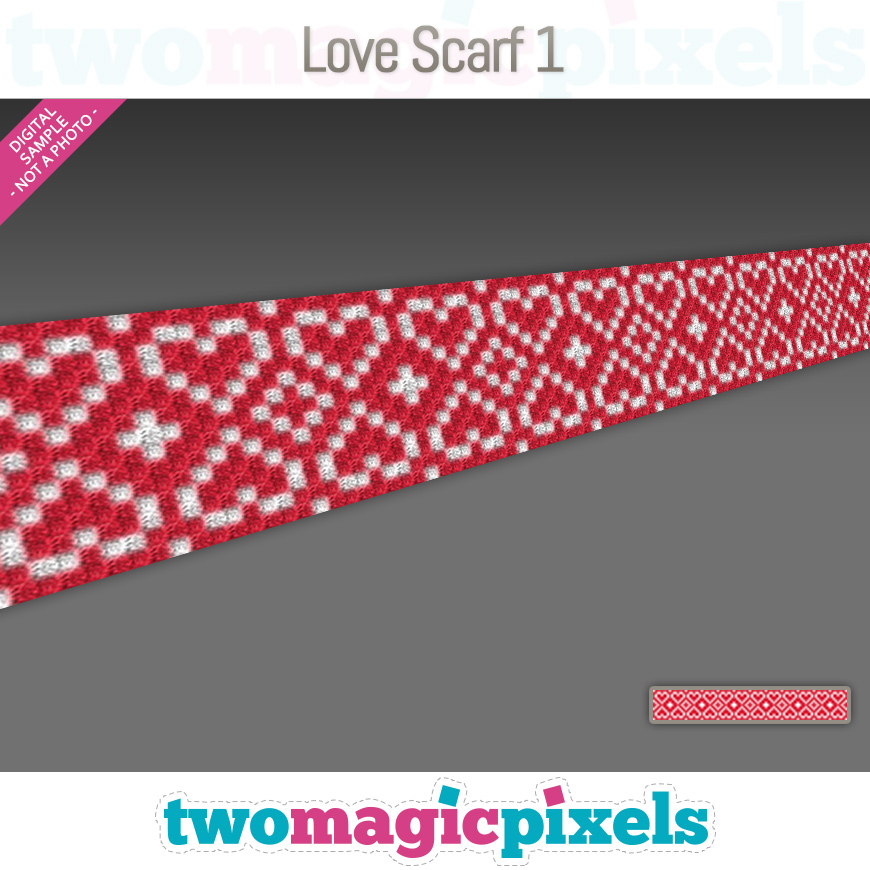 Love Scarf 1 by Two Magic Pixels