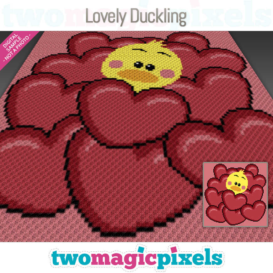 Lovely Duckling by Two Magic Pixels