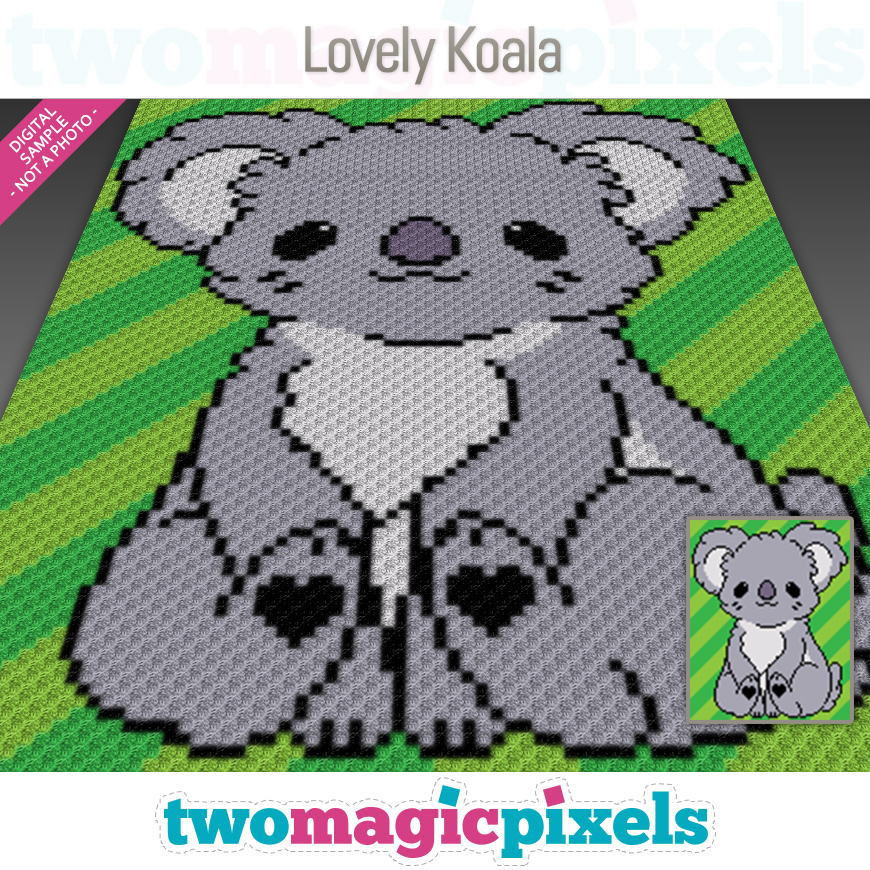 Lovely Koala by Two Magic Pixels