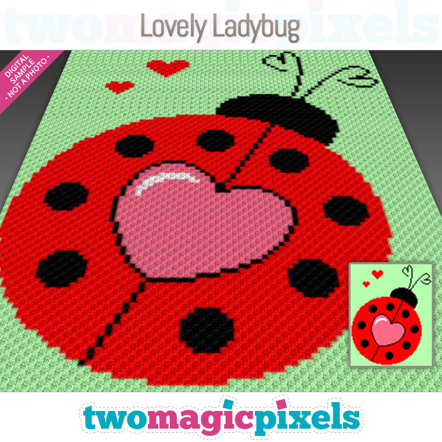 Lovely Ladybug by Two Magic Pixels