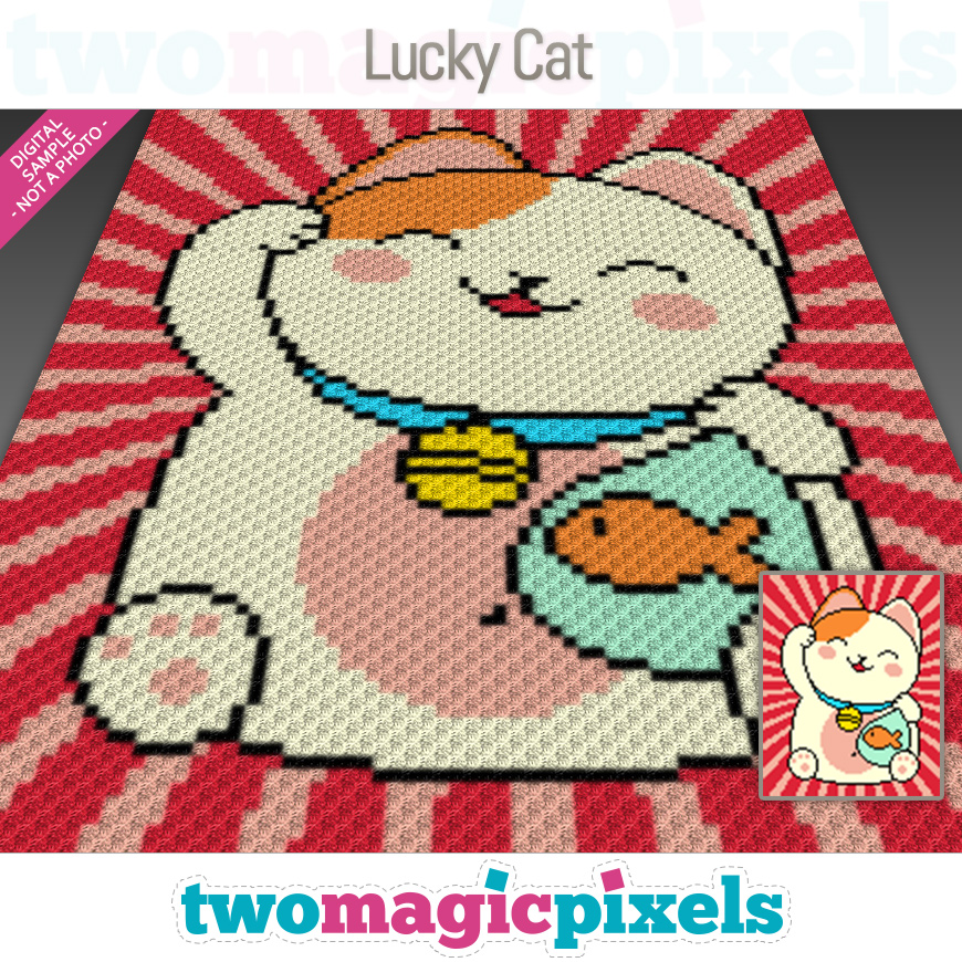 Lucky Cat by Two Magic Pixels