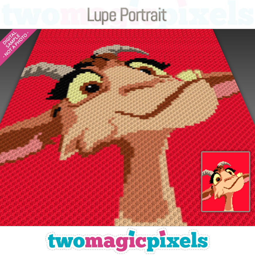 Lupe Portrait by Two Magic Pixels