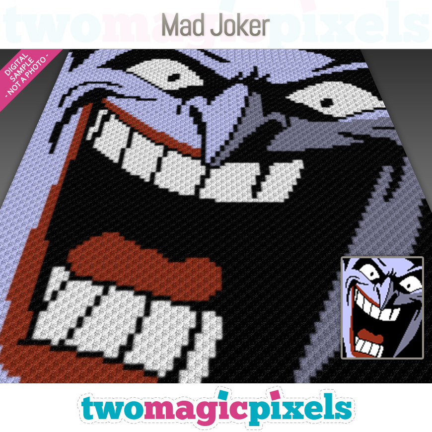 Mad Joker by Two Magic Pixels