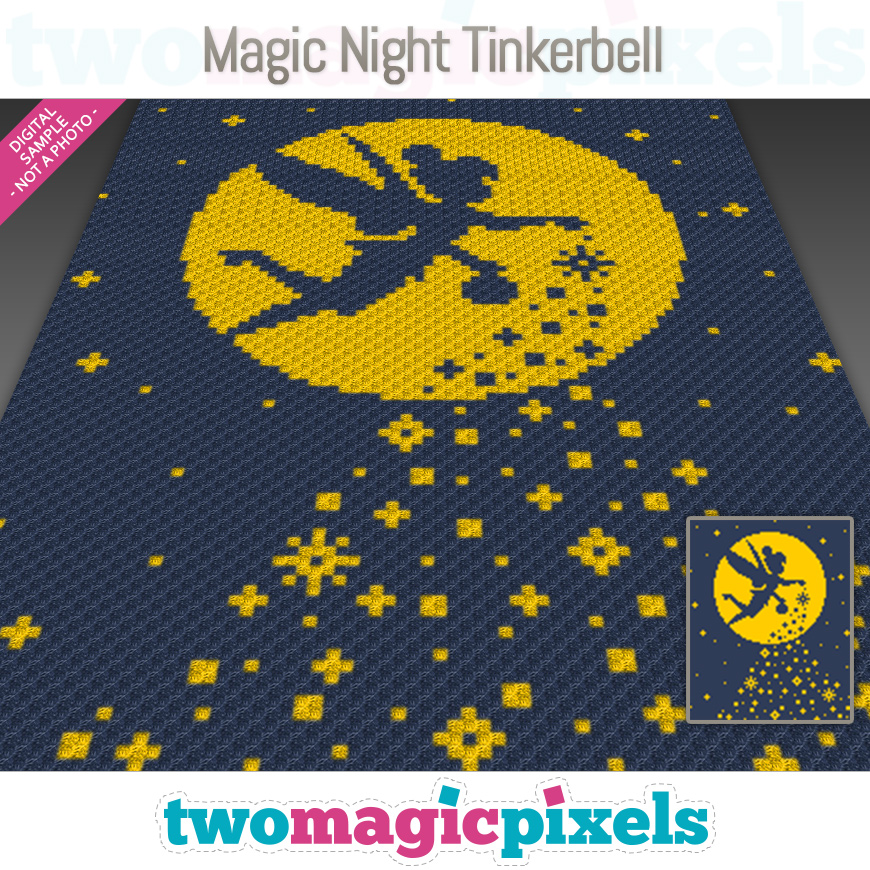 Magic Night Tinkerbell by Two Magic Pixels