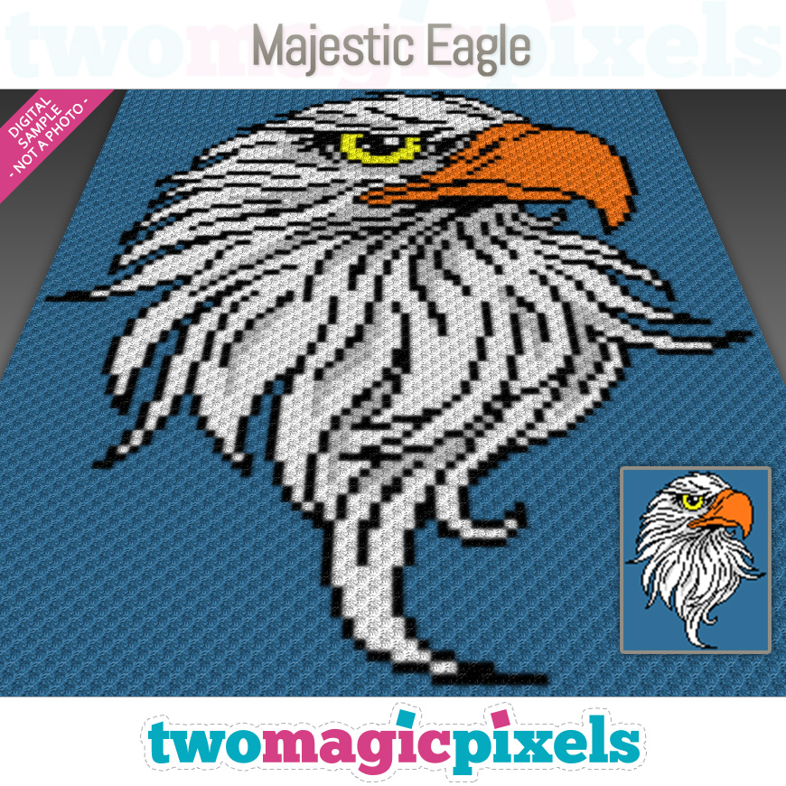 Majestic Eagle by Two Magic Pixels