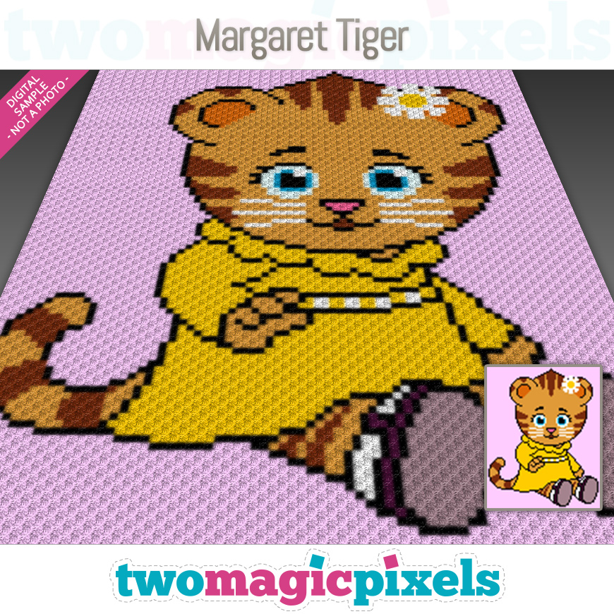 Margaret Tiger by Two Magic Pixels