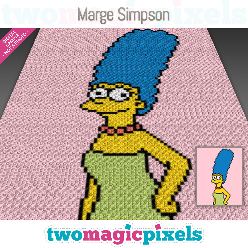 Marge Simpson by Two Magic Pixels