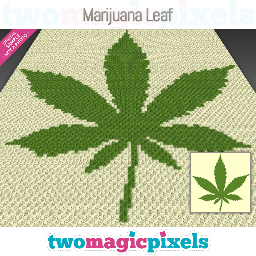 Marijuana Leaf by Two Magic Pixels
