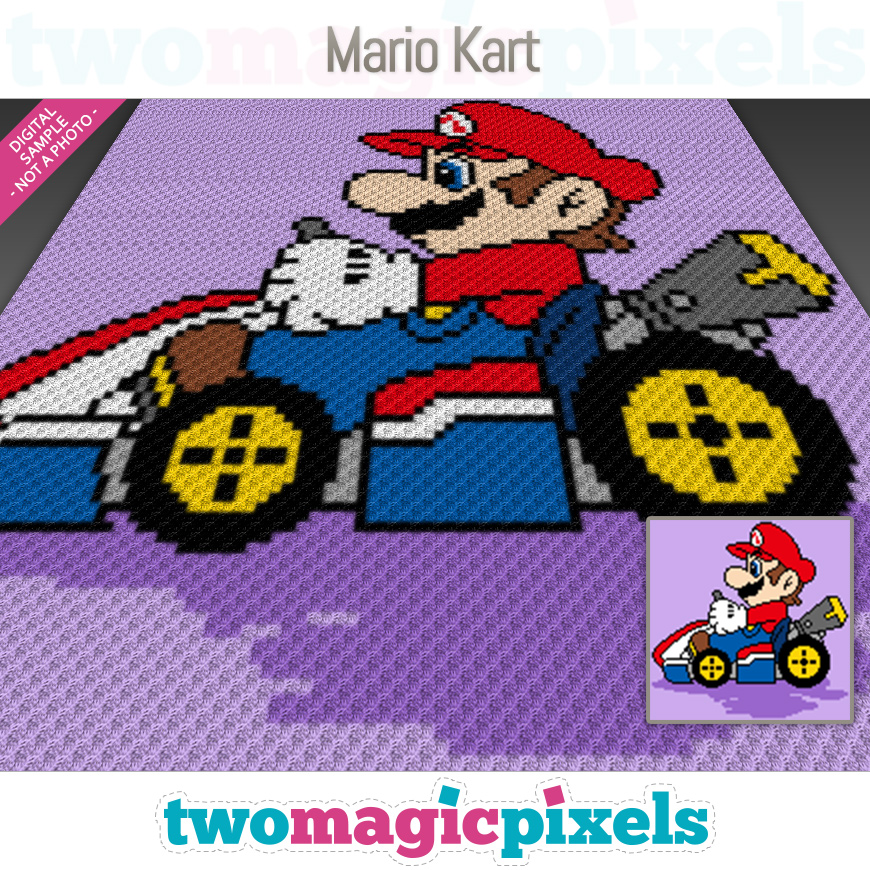 Mario Kart by Two Magic Pixels