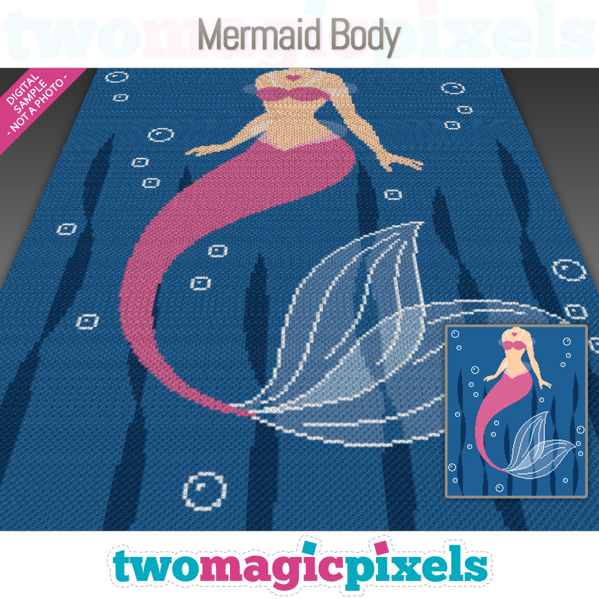 Mermaid Body by Two Magic Pixels