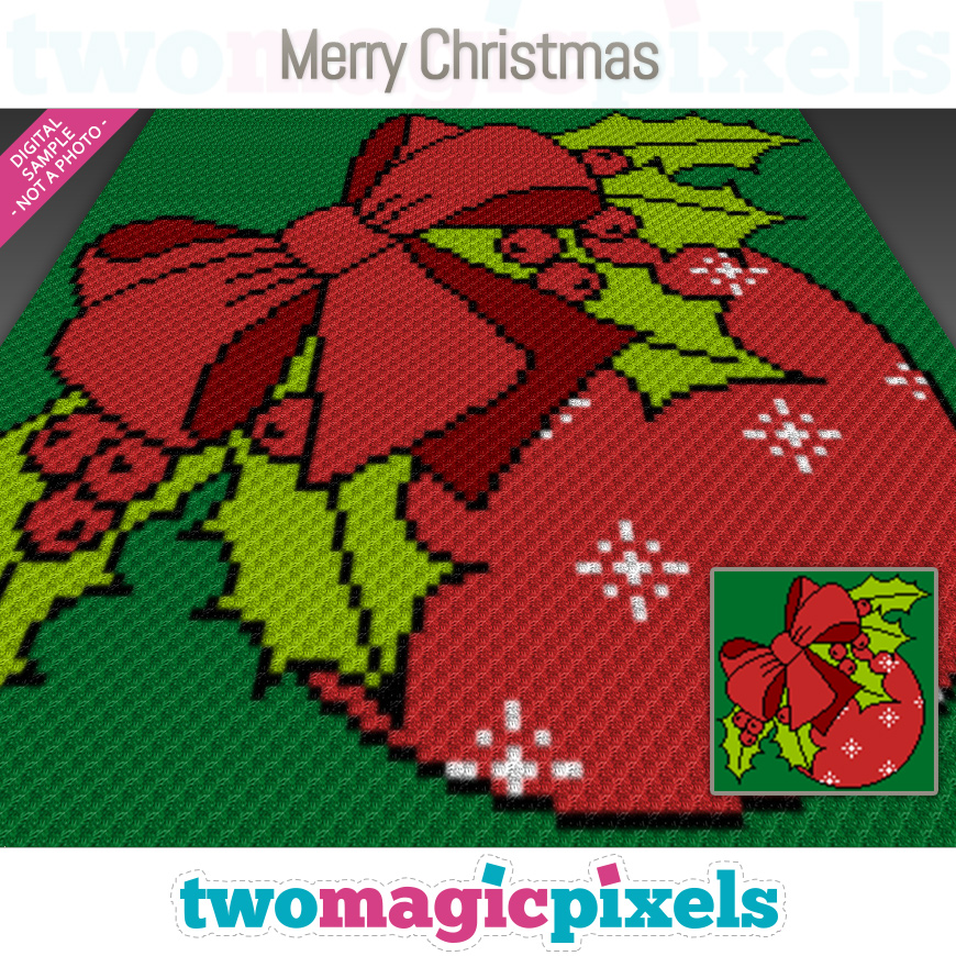 Merry Christmas by Two Magic Pixels