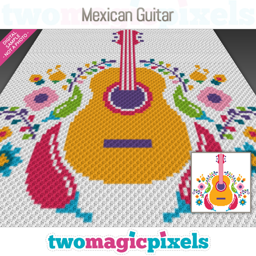 Mexican Guitar by Two Magic Pixels
