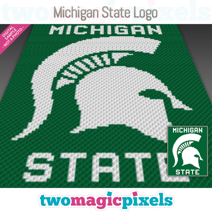 Michigan State Logo by Two Magic Pixels