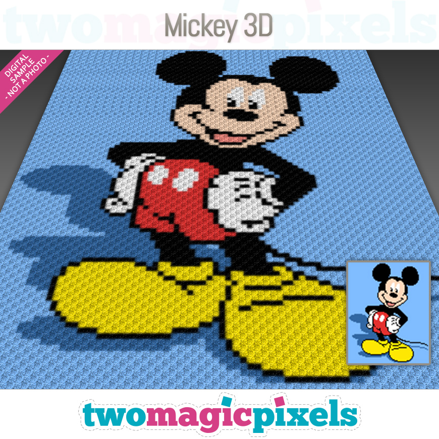 Mickey 3D by Two Magic Pixels