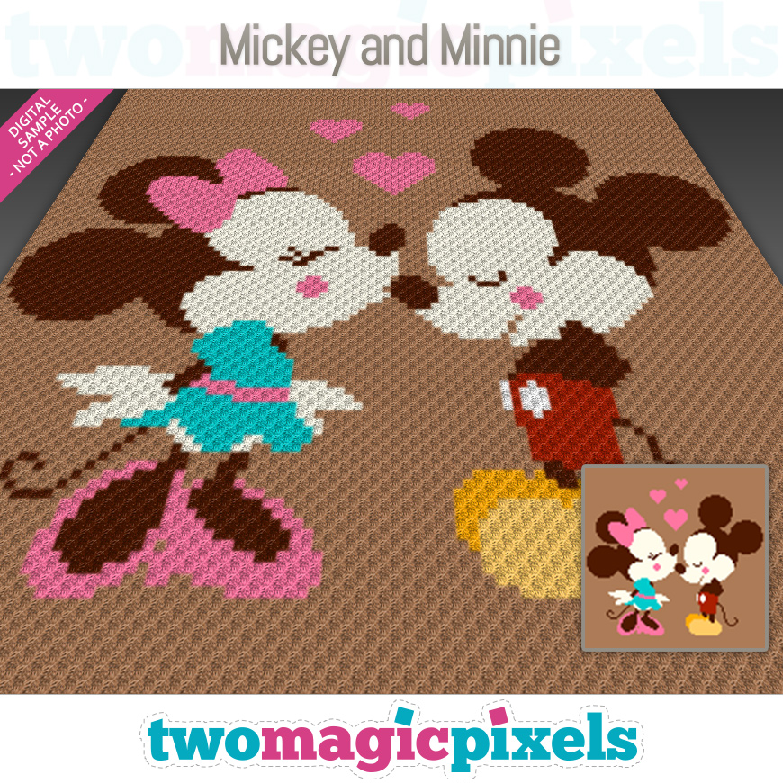 Mickey and Minnie by Two Magic Pixels